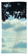 Day Dreaming With Clouds Beach Towel
