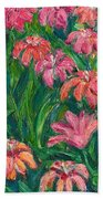 Day Lily Rush Beach Towel