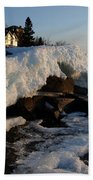 Daybreak At Cove Point Lodge Cottages Beach Towel