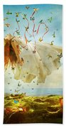 Daydreams Beach Towel by Aimee Stewart