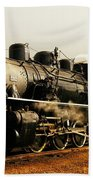 Days Of Steam And Steel Beach Towel