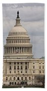 Dc Capitol Building Beach Towel