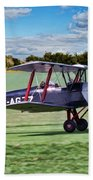 De Havilland Tiger Moth Beach Towel