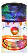 Dead Clown Beach Towel