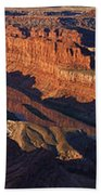 Dead Horse Point Sunrise Panorama Beach Towel