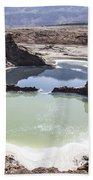 Dead Sea Sinkholes  Beach Towel