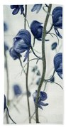 Deadly Beauty Beach Towel by Priska Wettstein