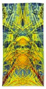 Decalcomaniac Intersection 1 Beach Towel