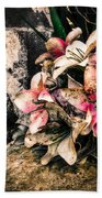Decayed Pink Beach Towel