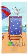 Deckchairs Beach Towel