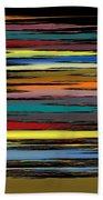 Deep Color Field 2 Beach Towel