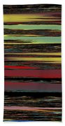 Deep Color Field Beach Towel