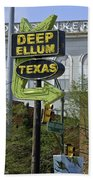 Deep Ellum Texas Beach Towel
