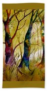 Deep In The Woods Beach Towel