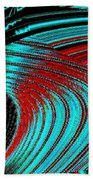 Deep Sea Abstract Beach Towel