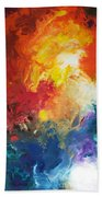 Deep Space Canvas One Beach Towel