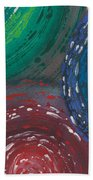 Deepen Abstract Shapes Beach Towel