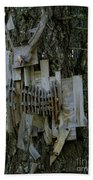 Deer Blind 01 Beach Towel