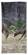 Deer Discussion E167 Beach Towel