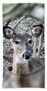Deer Hunter's View Beach Towel