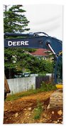 Deere For Hire Beach Towel