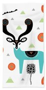 Deery Mountain Beach Towel