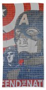 Defend The Nation Beach Towel
