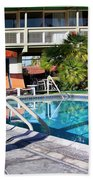 Del Marcos Pool Palm Springs Beach Towel