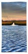 Delaware- Assawoman Bay Beach Towel