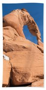 Delicate Arch South Side  Beach Towel
