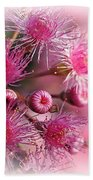 Delicate Buds And Blossoms Beach Towel