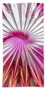 Delicate Orchid Blossom - Abstract Beach Towel