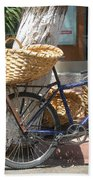 Delivery Bike Beach Towel