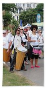 Dende Nation Samba Drum Troupe Beach Towel