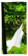 Denny Camp Falls  Beach Towel