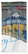 Denver Nuggets Beach Towel