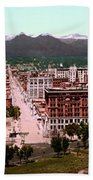 Denver Panorama 1897 Beach Towel