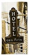 Art Hotel Beach Towel