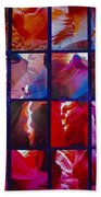 Descent Into Heaven Assemblage In Lower Antelope Canyon In Lake Powell Navajo Tribal Park In Page-az Beach Towel