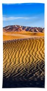 Desert Lines Beach Towel by Chad Dutson