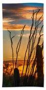 Desert Sunset Beach Towel