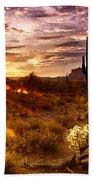 Desert Sunshine  Beach Sheet