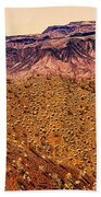 Desert View In Arizona By The Colorado River Beach Towel