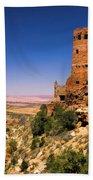 Desert View Watchtower Beach Towel