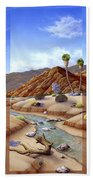 Desert Vista Large Beach Towel