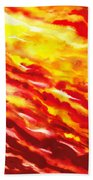 Desert Wind Abstract I Beach Towel
