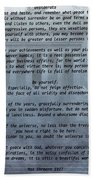 Desiderata Stairs Beach Towel