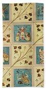 Design For Nursery Wallpaper Beach Towel
