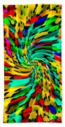 Designer Phone Case Art Colorful Rich And Bold Abstracts Cell Phone Covers Carole Spandau Cbs Art136 Beach Towel by Carole Spandau