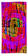 Designer Phone Case Art Colorful Rich Bold Abstracts Cell Phone Covers Carole Spandau Cbs Art 138 Beach Towel